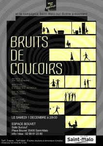 Affiche Bruits de couloirs bis
